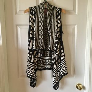 Dolled Up Aztec Southwestern Cardigan Sweater M ✨